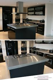 Kitchen Island Space Requirements 66 Best Our Stainless Steel Kitchens Images On Pinterest