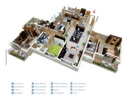 house plans with big bedrooms 50 four 4 bedroom apartment house plans architecture design