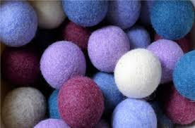 how to make wool dryer balls to reduce drying time