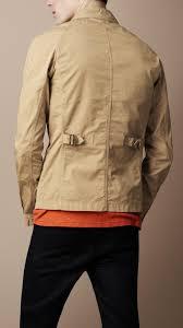 burberry brit men cotton field jacket men s fashion