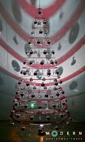 contemporary christmas tree christmas lights decoration