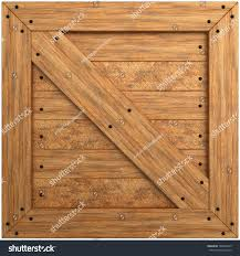 wooden crate texture isolated on white stock illustration