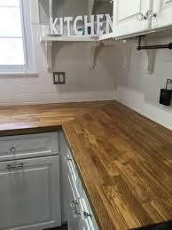 countertop walnut butcher block real wood countertop custom wood