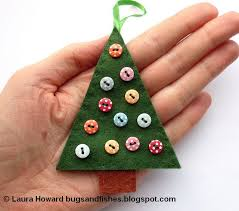 bugs and fishes by lupin how to felt tree ornaments