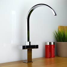 enki modern square designer versare style kitchen sink mixer tap