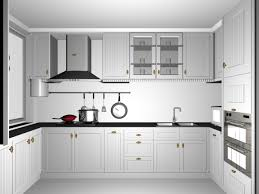 small white kitchen design 3d model 3dsmax files free download