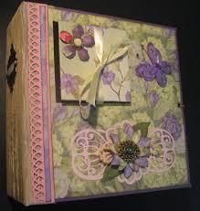 8x8 photo album scrappinrabbit 8x8 floral scrapbook mini album