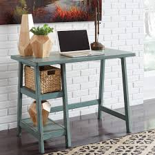 Small Desk Home Office Mirimyn Teal Home Office Small Desk Bernie Phyl S Furniture