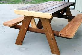 folding picnic table bench plans pdf convertible picnic table convertible picnic table outsunny 2 in 1