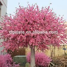 blooming tree top quality factory indoor decoration artificial