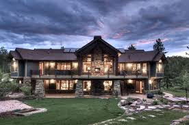 custom mountain home floor plans rustic luxury home plans custom house country mountain style
