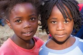 file children of zambian service members gather at the zambian