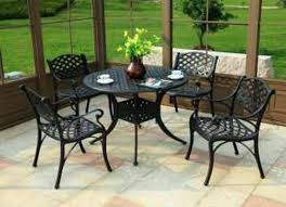 Lazy Susan Turntable For Patio Table Wrought Iron Patio Table With Lazy Susan Patio Furniture