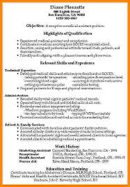 Medical Assistant Resume Skills Examples by 6 Medical Assistant Resumes Examples Technician Resume