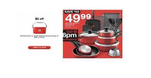 target black friday deals online start at target black friday deal on t fal non stick cookware 44 99