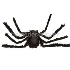 aliexpress com buy black plush large giant spider halloween