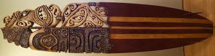 recycled surfboard carvings repurposed surfboards hawaii