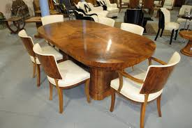 Art Deco Dining Room Sets Awesome Oval Dining Room Table Gallery Room Design Ideas