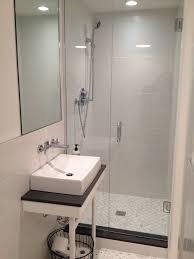 Best Bathrooms Small Images On Pinterest Tiny Bathrooms - Basement bathroom design