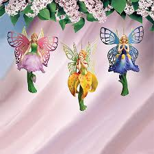 butterfly fairies ornaments series 1 set of 3