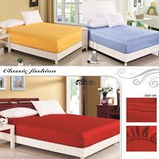 online cheap luxury satin silk fitted bed sheet elastic bed cover