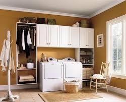 Modern Laundry Room Decor by Laundry Rooms Black White Floor Shining Home Design