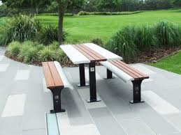 public benches exteria street park outfitters