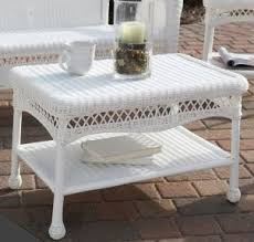 Wicker Patio Coffee Table Coffee Tables Ideas White Wicker Coffee Table Pictures