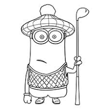 25 cute minions coloring pages toddler