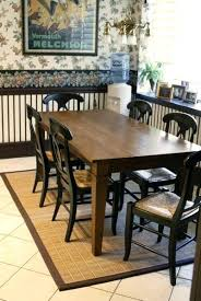 Round Table Rectangular Rug Rug Dining Table Size Under On Carpet Around Round Below Pinterest