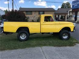 1963 to 1965 ford f100 for sale on classiccars com 28 available