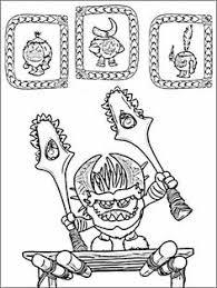 kakamora from moana coloring page from moana category select from