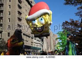 macy s thanksgiving day parade spongebob squarepants balloon