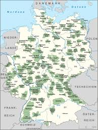Map Germany by Map Displaying The Nature Parks In Germany 1943 2591 Mapporn