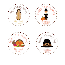 thanksgiving stickers thanksgiving treat tag favor tag