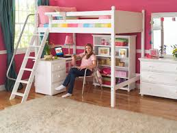 Small Loft Bedroom Furniture Fashionable Loft Beds For Girls Glamorous Bedroom Design