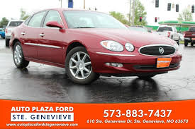auto plaza ford 2007 buick lacrosse cxl for sale in ste genevieve mo from auto