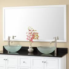 White Framed Mirror For Bathroom Bathroom White Bathroom Mirror Beautiful Contemporary White