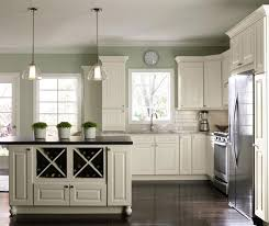 Painted Kitchen Cabinets Plain Amazing Paint Kitchen Cabinets White White Painted Kitchen