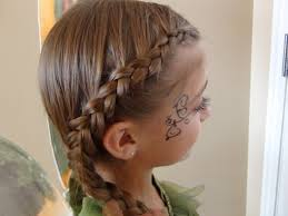 Simple Girls Hairstyles by Woodland Fairy Lace Braids Halloween Hairstyles Cute Girls