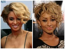 the best haircut for curly hair the best hairstyles for black women with a round face hair world