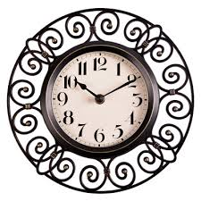 aliexpress com buy 10 inch crafts vintage decorative wall clock