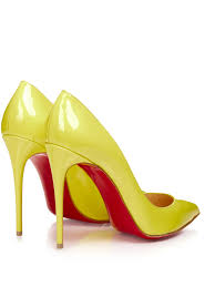 christian louboutin pigalle follies 100mm patent leather pumps in