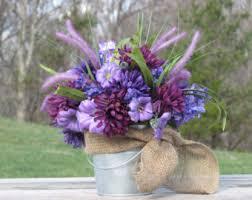 flower arrangements in rustic galvanized buckets rustic summer