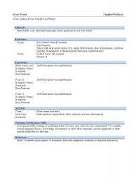 Google Sample Resume by Free Resume Templates 85 Extraordinary Google Docs Template