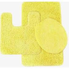 yellow u0026 gold bath rug sets you u0027ll love wayfair