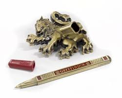 Desk Pen Stand Harry Potter Gryffindor Pen U0026 Desk Stand 849241002844 Item