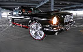 1964 Black Mustang 1964 Ford Mustang Coupe Ppg Black With Ppg Candy Red Stripes