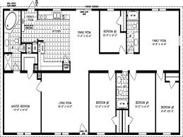 perfect floor plan fascinating 4 bedroom mobile home floor plans with double wide