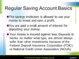 checking accounts savings accounts and banking services ppt